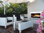 Flourish small escea-ef5000-gas-fireplace-courtyard-3